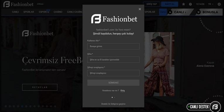 Fashionbet Şikayet